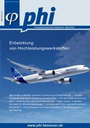 phi Ausgabe 1/2011 - Produktionstechnik Hannover informiert