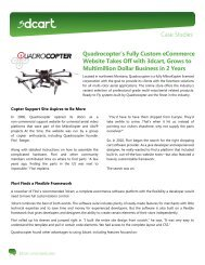 Quadrocopter's Fully Custom eCommerce Website Takes ... - 3DCart