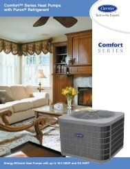 Comfort Series Heat Pump - Ray Electric Ltd.