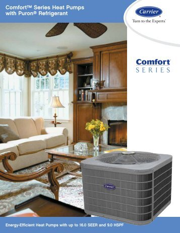 Comfort Series Heat Pump - Ray Electric Ltd.