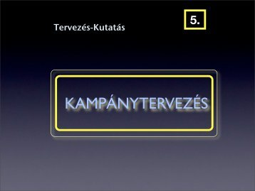 KAMPÁNYTERVEZÉS - Sas István.hu