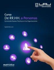 De RR.HH. a Personas - Universidad Adolfo Ibañez