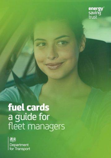Fuel card best practice guide