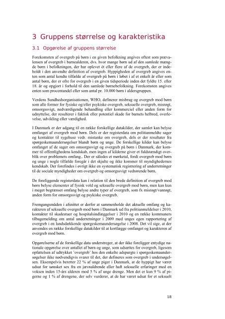 EtablEring af børnEhusE i Danmark - Sundhedsstyrelsen