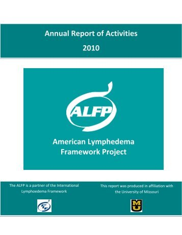 American Lymphedema Framework Project Annual Report of ...