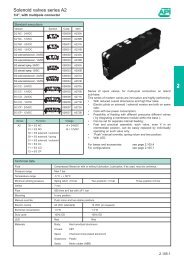 Solenoid valves series A2 - PMC Group