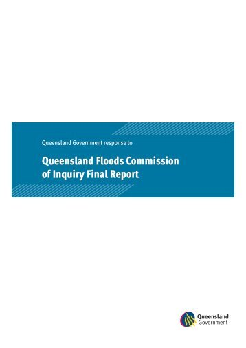 Queensland Floods Commission of Inquiry Final Report
