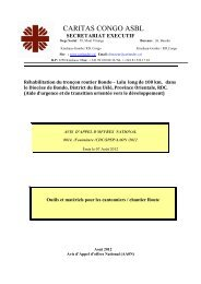 cliquant ici (document complet de cet avis d'apel d'offres). - Caritas