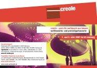 Programmheft (PDF 321 KB) - Creole