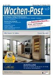 41/2-Zi-Wohnung - Wochen-Post