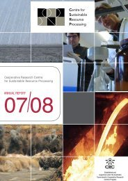CSRP Annual Report 2007/2008 - Australian Sustainable ...