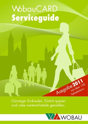 Serviceguide - WOBAU Magdeburg