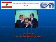 Portugal 27-- 30 Septembre Septembre 2011 - INBO
