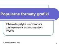 Popularne formaty grafiki
