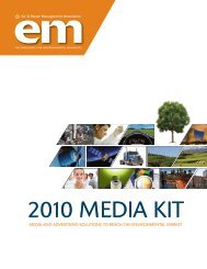 2010 MEDIA KIT - Air & Waste Management Association