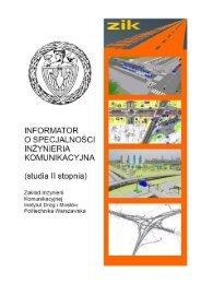 Folder ZIK - Wydział Inżynierii Lądowej - Politechnika Warszawska