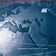 Download the Annual Report PDF (1.99MB) - Tullow Oil plc