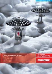 Foam extinguishing systems (PDF) - Minimax