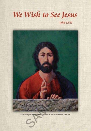 Introduction - Lent Program 2013