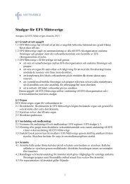 Förslag till nya stadgar - EFS Mittsverige