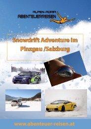 Snowdrift Adventure im Pinzgau /Salzburg - Abenteuer Reise in ...