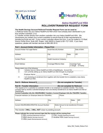 Collegeamerica Rollover/Transfer Request Form - American Funds