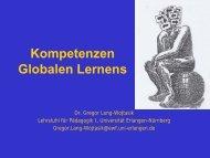 Kompetenzen Globalen Lernens
