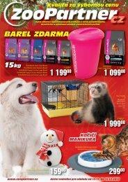 Kvalita za výbornou cenu BAREL 15kg ZDARMA - ZooPartner