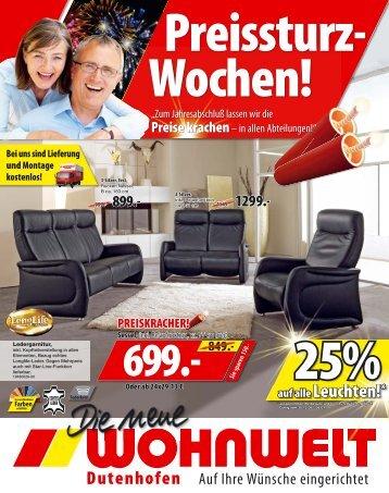 PREISKRACHER! - Wohnwelt