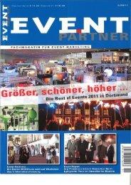 Page 1 FACHNIAGAZIN FÜR EVENT-MARKETING I