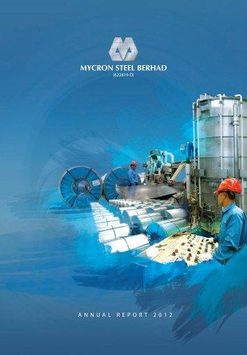 ANNUAL REPORT 2012 - MYCRON Steel Berhad