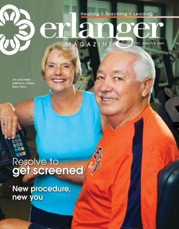 Resolve to get screened - Erlanger Health System