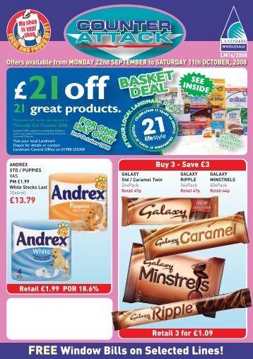 Please Click Here To Open a PDF File of All Special Offers - Sun Mark