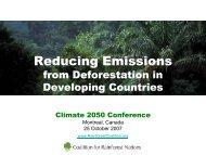 Reducing Emissions - Institut Veolia Environnement