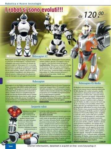 I robot si sono evoluti!!! - Futura Elettronica