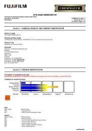 CPS Haze Remover HV - FUJIFILM Australia