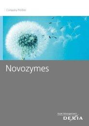 Novozymes (Denmark) - Dexia Asset Management