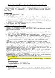 Zápis ze 17. jednání Finančního výboru (14.1.2013) - Chrudim