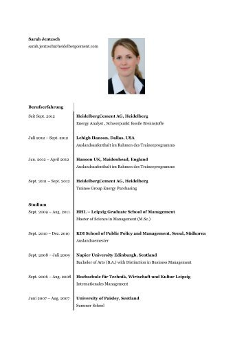 Praxiserfahrung von Sarah Jentzsch - Dualer Bachelor Logistik
