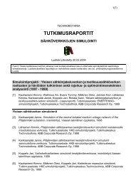 Simuloinnin julkaisuluettelo (pdf) - Vaasan ammattikorkeakoulu