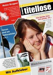 """Schülerzeitung """"Der Titellose"""""""