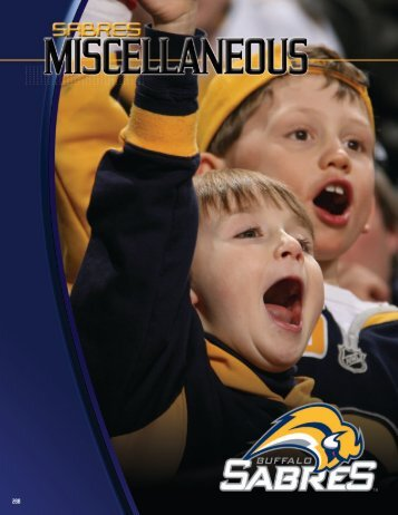 2008-09 Buffalo Sabres Media Guide - NHL.com