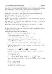 Wachstum und Zerfall (exponentiell) Theorie Bei vielen ... - gxy.ch