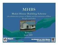 Mukti House Building Scheme - Asha for Education