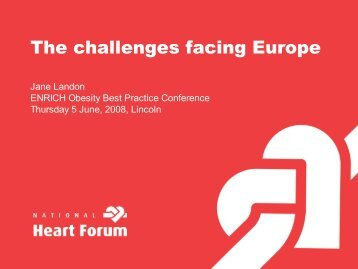 The challenges facing Europe - enrich :: european network of ...