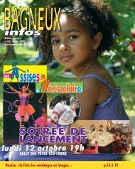 Bagneux infos 170 - octobre 2009