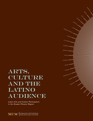 ARTS, CULTURE AND THE LATINO AUDIENCE
