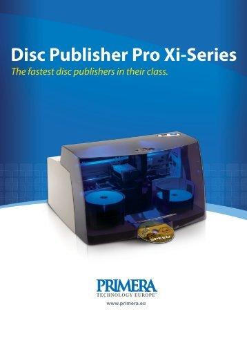 Disc Publisher Pro Xi - BlueStar