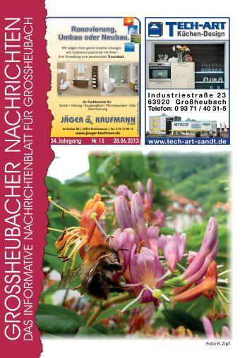 Großheubacher Nachrichten Ausgabe 13-2013 - STOPTEG Print ...