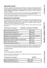 Modelos OptiMax 75/90/115 - Brunswick Marine in EMEA Download ...